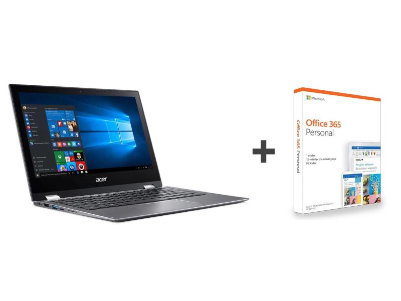 Acer Spin 1 N5000/4GB/64/Win10 IPS FHD +Rysik