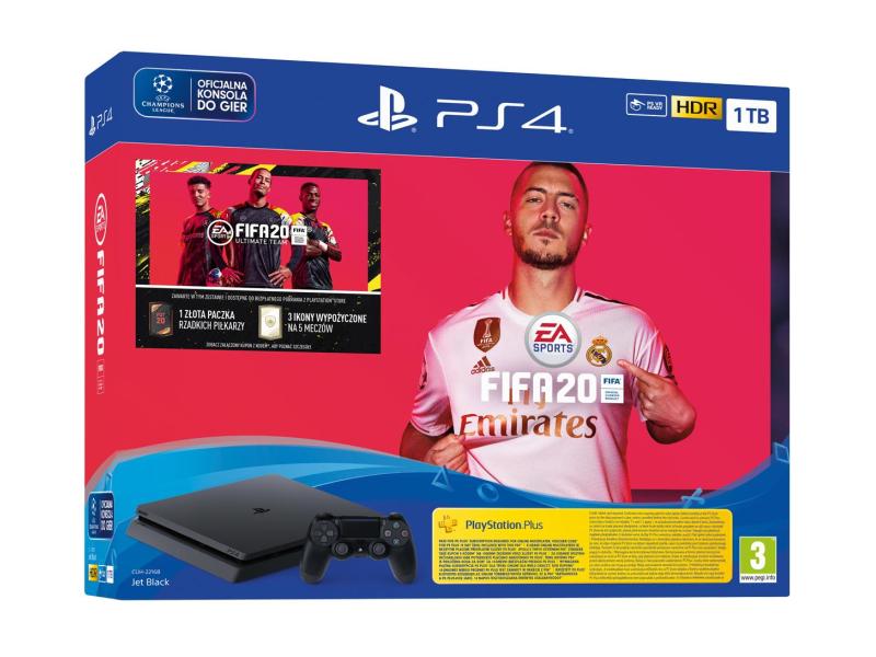 Sony PlayStation 4 Slim 1TB + FIFA 20