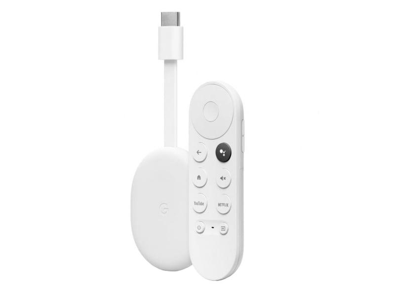 Google Chromecast 4.0 biały Google TV