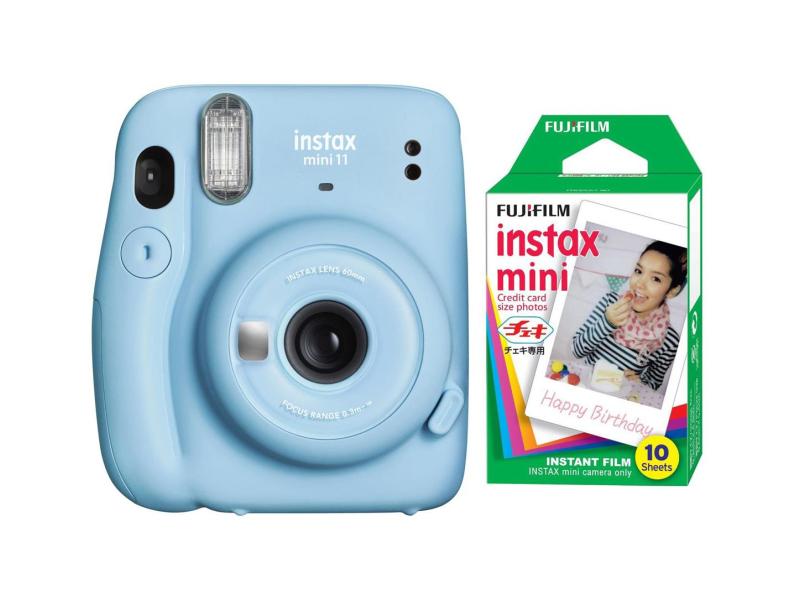 Fujifilm Instax Mini 11 niebieski + wkłady (10 zdjęć)