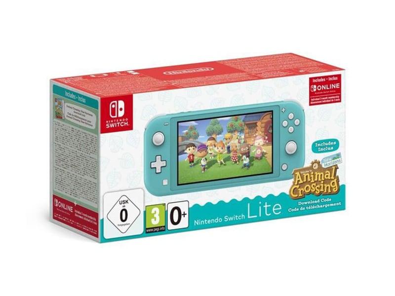 Nintendo Switch Lite - Morski + ACNH + NSO 3 miesiące