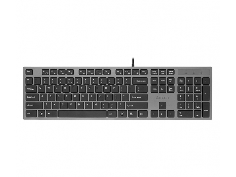 A4Tech KV-300H Slim szaro-czarna USB