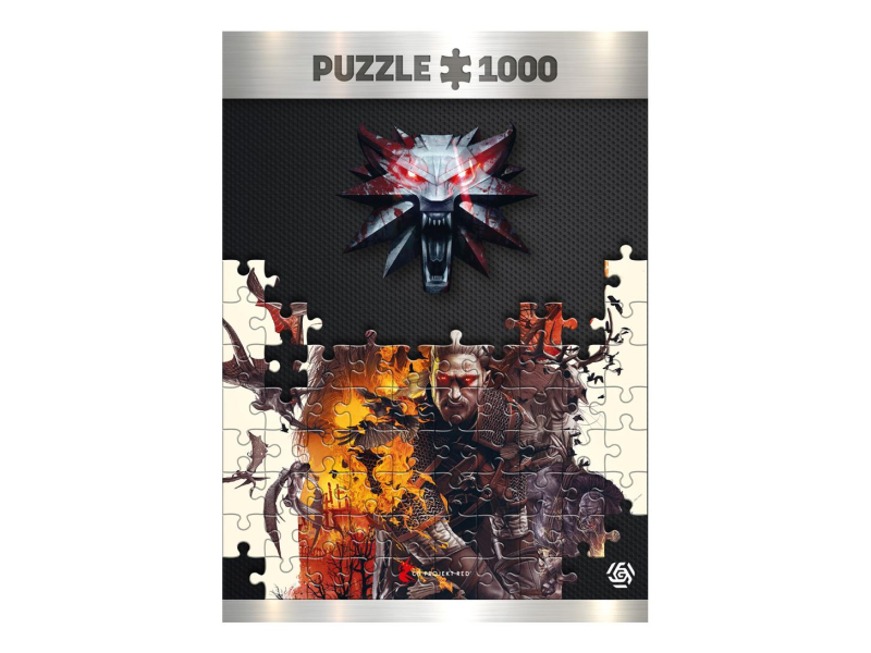 Good Loot Wiedźmin: Monsters puzzles 1000