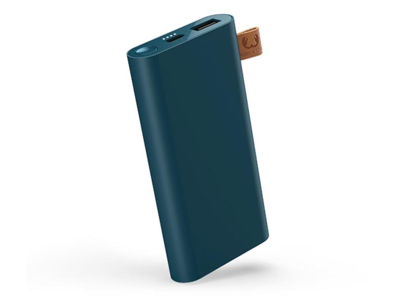 Fresh N Rebel Power Bank 6000 mAh (USB-C, Petrol Blue)