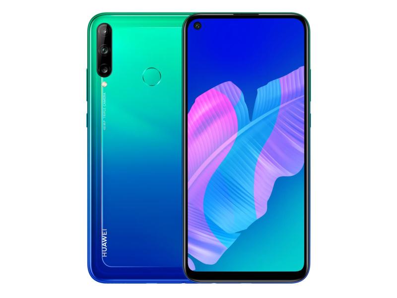 Huawei P40 lite E niebieski