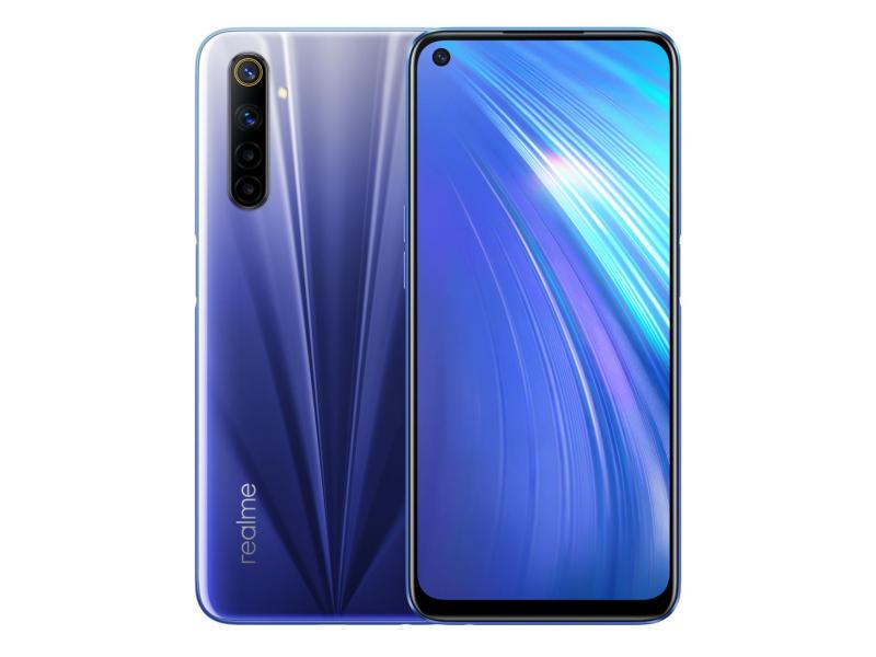 Realme 6 4+128GB Comet Blue 90Hz