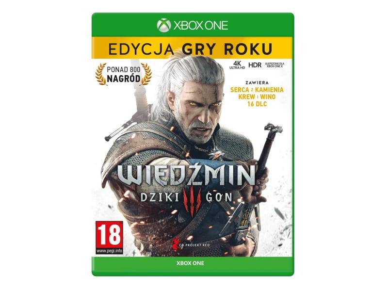 Xbox Wiedźmin 3: Dziki Gon - Edycja Gry Roku