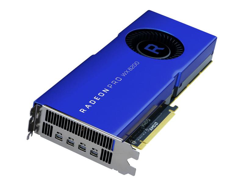 AMD Radeon Pro WX 8200 8GB HBM2