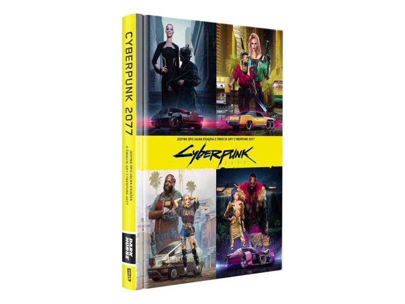 CENEGA Oficjalna książka o świecie gry Cyberpunk 2077