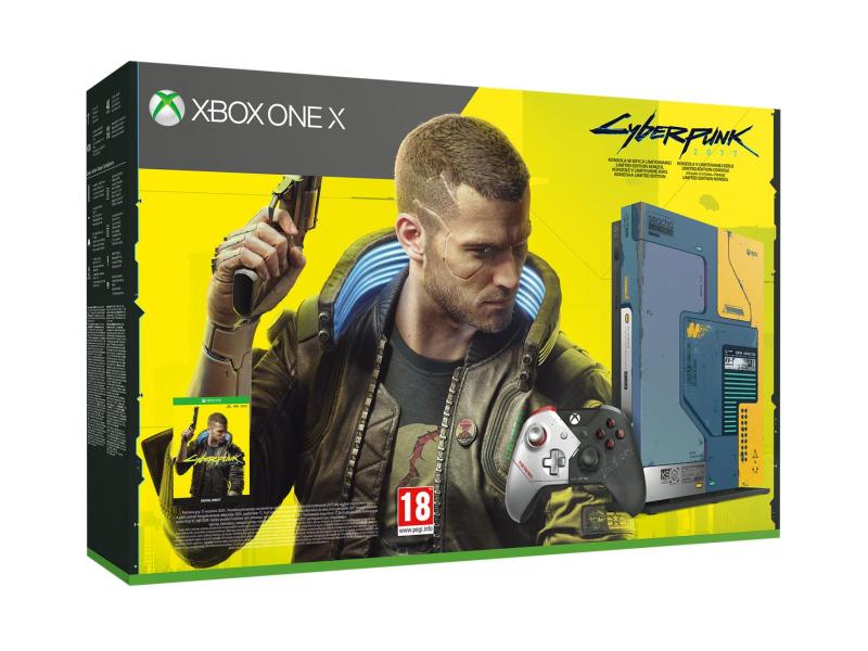 Microsoft Xbox One X 1TB - Cyberpunk 2077 Limited Edition