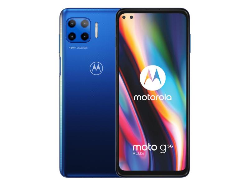 Motorola Moto G 5G Plus 6/128GB Surfing Blue 90Hz