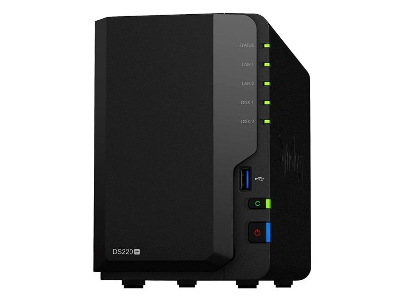 Synology DS220+ (2xHDD, 2x2-2.9GHz, 2GB, 2xUSB, 2xLAN)