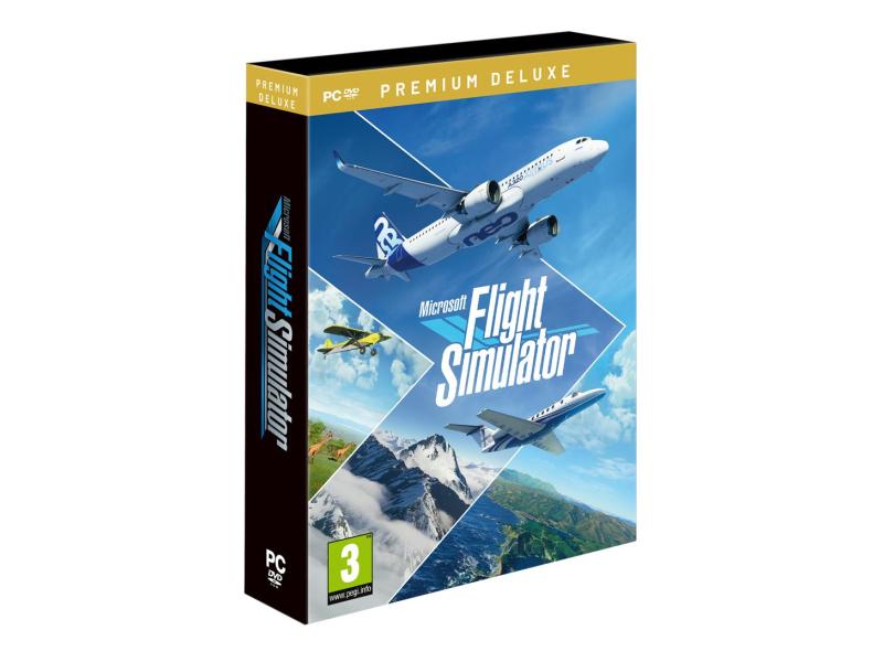 PC Microsoft Flight Simulator Premium Deluxe
