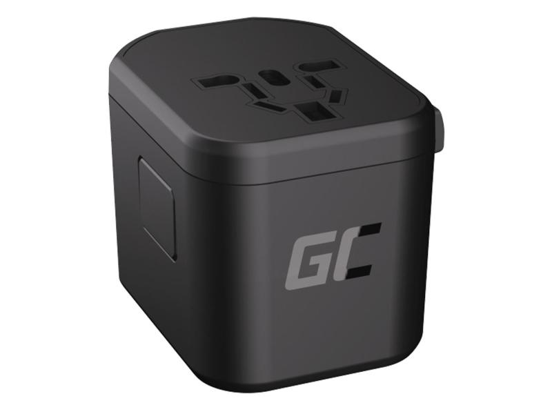Green Cell Adapter podróżny TripCharge Pro (USB USB-C, 18W)