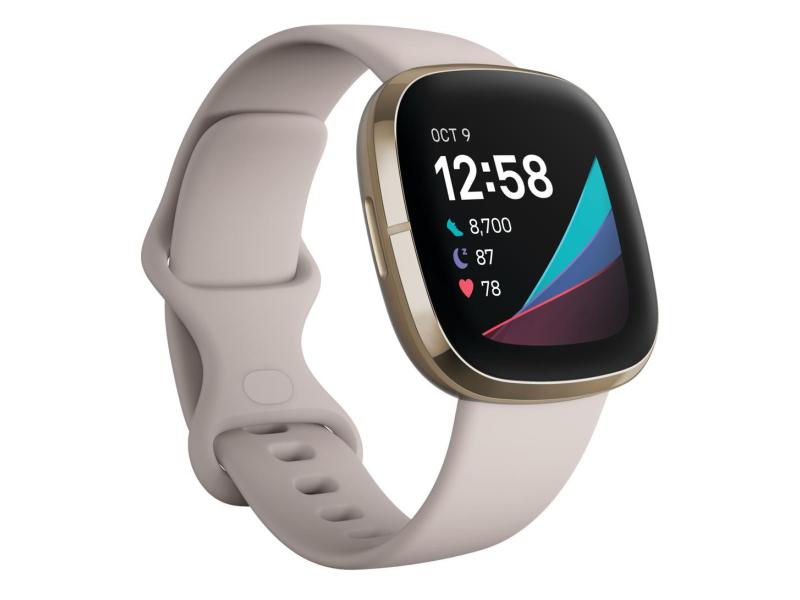 Fitbit Sense złoto beżowy + Fitbit Premium