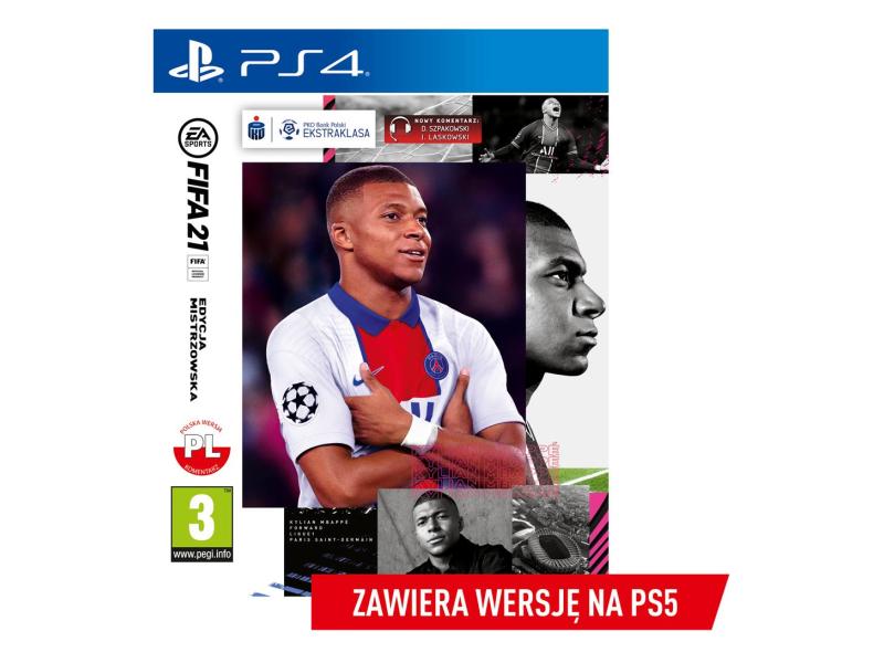 PlayStation FIFA 21 : EDYCJA MISTRZOWSKA