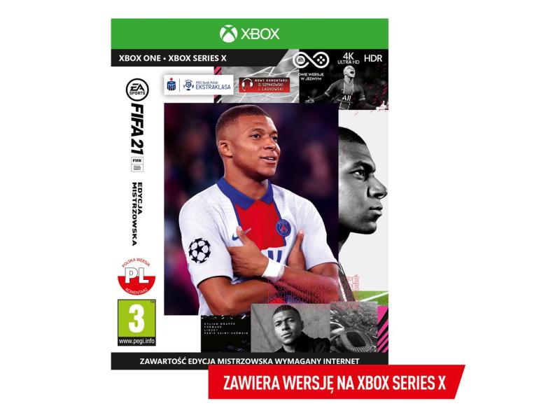 Xbox FIFA 21 : EDYCJA MISTRZOWSKA