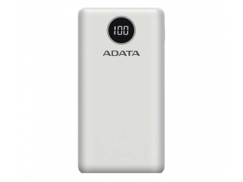 ADATA Power Bank P20000QCD 20000mAh biały