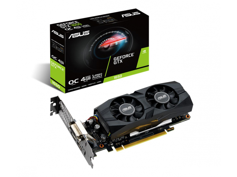 ASUS  GeForce GTX 1650 OC 4GB GDDR5