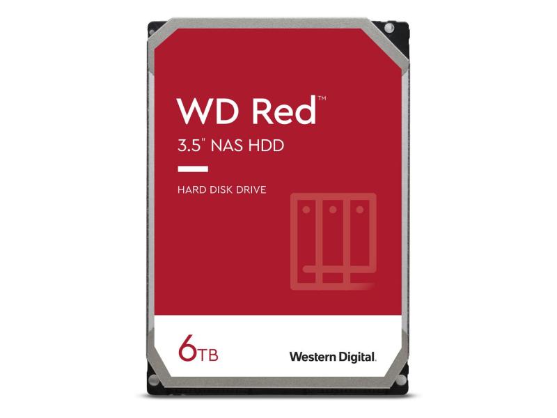 WD RED 6TB 5400obr. 256MB DM-SMR