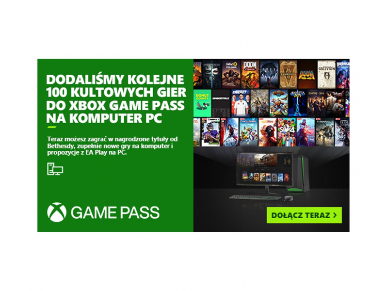 Microsoft Game Pass PC 6 miesiące (kod)