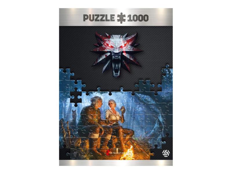 Good Loot Wiedźmin: Journey of Ciri puzzles 1000