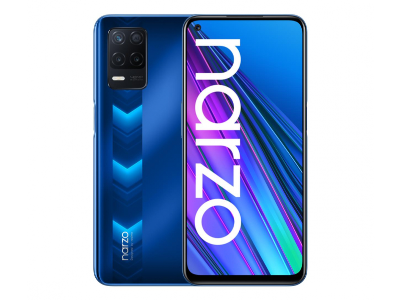 realme narzo 30 5G 4+128GB racing blue
