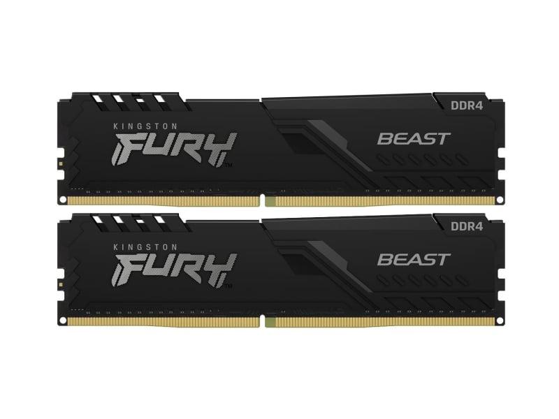 Kingston FURY 32GB (2x16GB) 3600MHz CL18 Beast Black