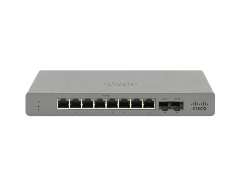Cisco Meraki Go GS110-8P-HW-EU PoE (8x1000Mbit, 2xSFP)