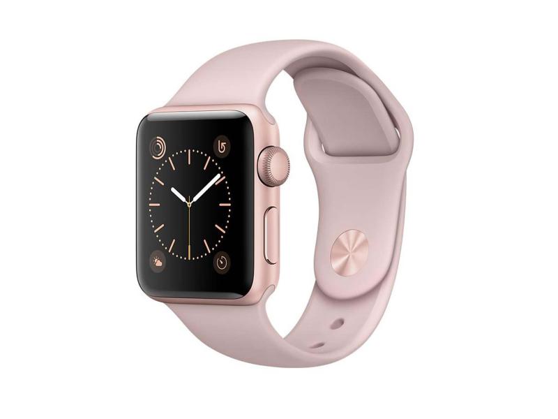 Apple Watch 2 38Rose Gold Aluminium/Pink Sand Sport Band ...