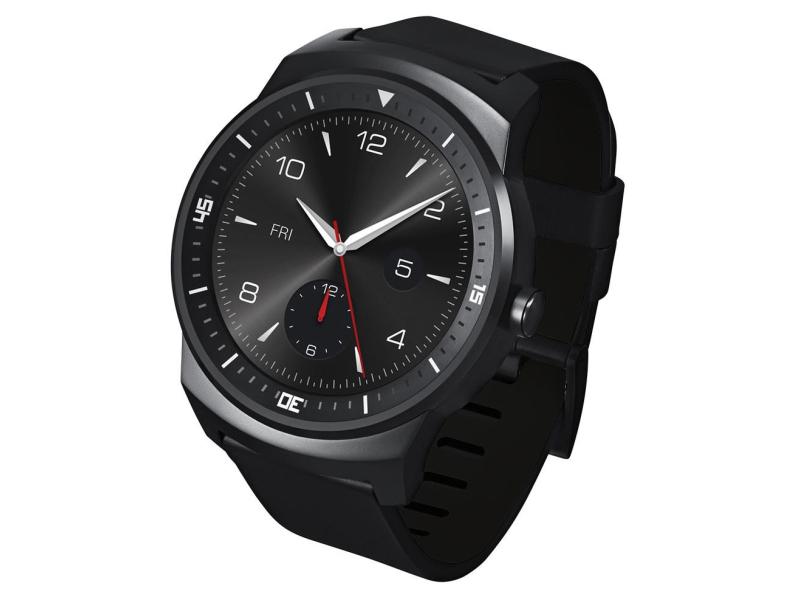 LG G Watch R czarny - Smartwatche i akcesoria