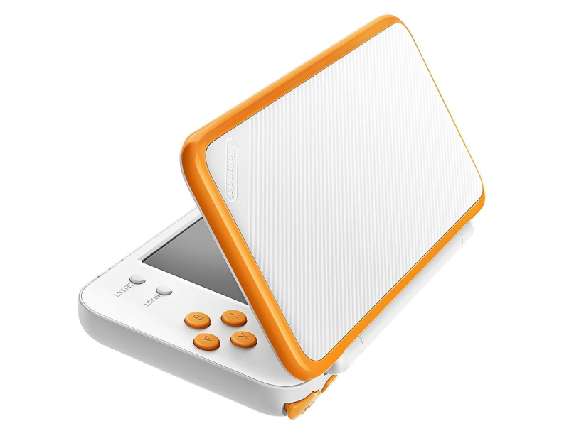 nintendo new 2ds xl white amp orange konsole nintendo