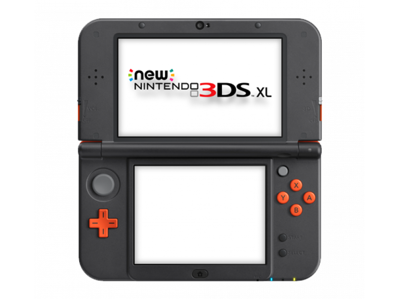 nintendo new nintendo 3ds xl orange black konsole