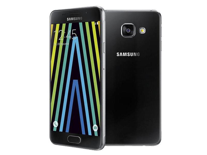 samsung galaxy a3 a310f 2016 lte czarny smartfony i telefony sklep komputerowy x. Black Bedroom Furniture Sets. Home Design Ideas