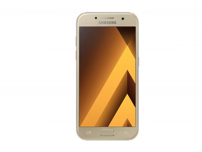 samsung galaxy a3 a320f 2017 lte gold sand smartfony i telefony sklep komputerowy x. Black Bedroom Furniture Sets. Home Design Ideas