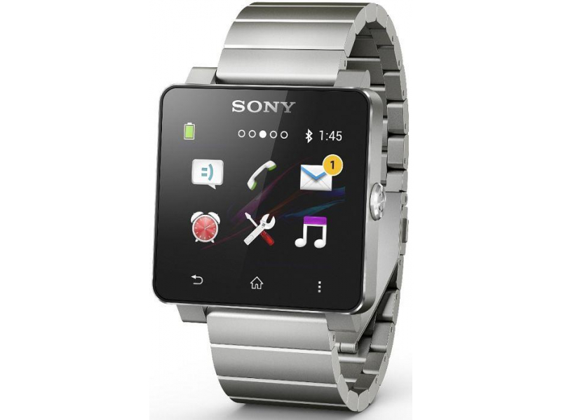Sony SmartWatch 2 SW2 Metal srebrny - Smartwatche