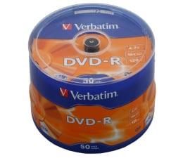 Płyta DVD-R Verbatim 4.7GB 16x CAKE 50szt.
