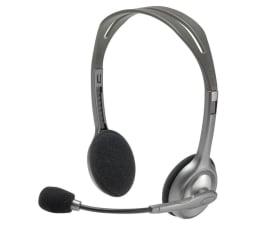Słuchawki przewodowe Logitech H110 Headset z mikrofonem