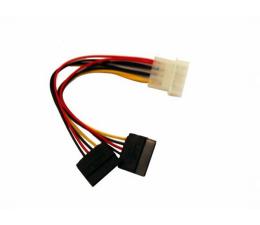 Przejściówka Gembird Przejściówka Molex - 2x SATA (zasilanie)