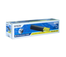 Toner do drukarki Epson C13S050187 yellow 4000str.