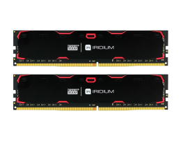 Pamięć RAM DDR4 GOODRAM 16GB (2x8GB) 2133MHz CL15 IRIDIUM Black