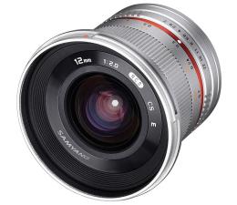 Obiektywy stałoogniskowy Samyang 12mm F2.0 NCS CS FujiFilm X srebrny