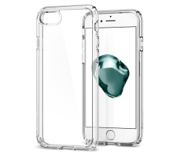 Etui / obudowa na smartfona Spigen Ultra Hybrid 2 do iPhone 7/8/SE Crystal Clear