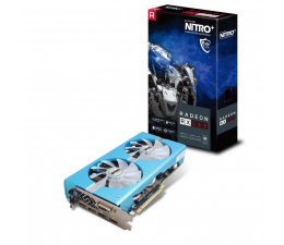 Karta graficzna AMD Sapphire Radeon RX 580 NITRO + 8GB GDDR5
