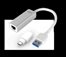 Przejściówka Unitek Adapter USB, USB-C - RJ-45 (Gigabit)