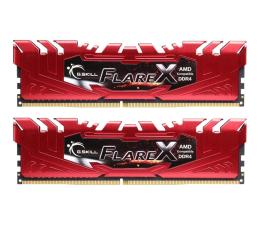 Pamięć RAM DDR4 G.SKILL 16GB (2x8GB) 2400MHz CL15 Flare X Red Ryzen