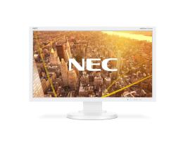 """Monitor LED 22"""" Nec MultiSync E233WMi biały"""