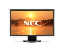 "Monitor LED 22"" Nec AccuSync AS222Wi czarny"