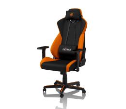 Fotel gamingowy Nitro Concepts S300 Gaming (Czarno-Pomarańczowy)