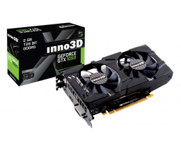 Karta graficzna NVIDIA Inno3D GeForce GTX 1050 TWIN X2 2GB GDDR5